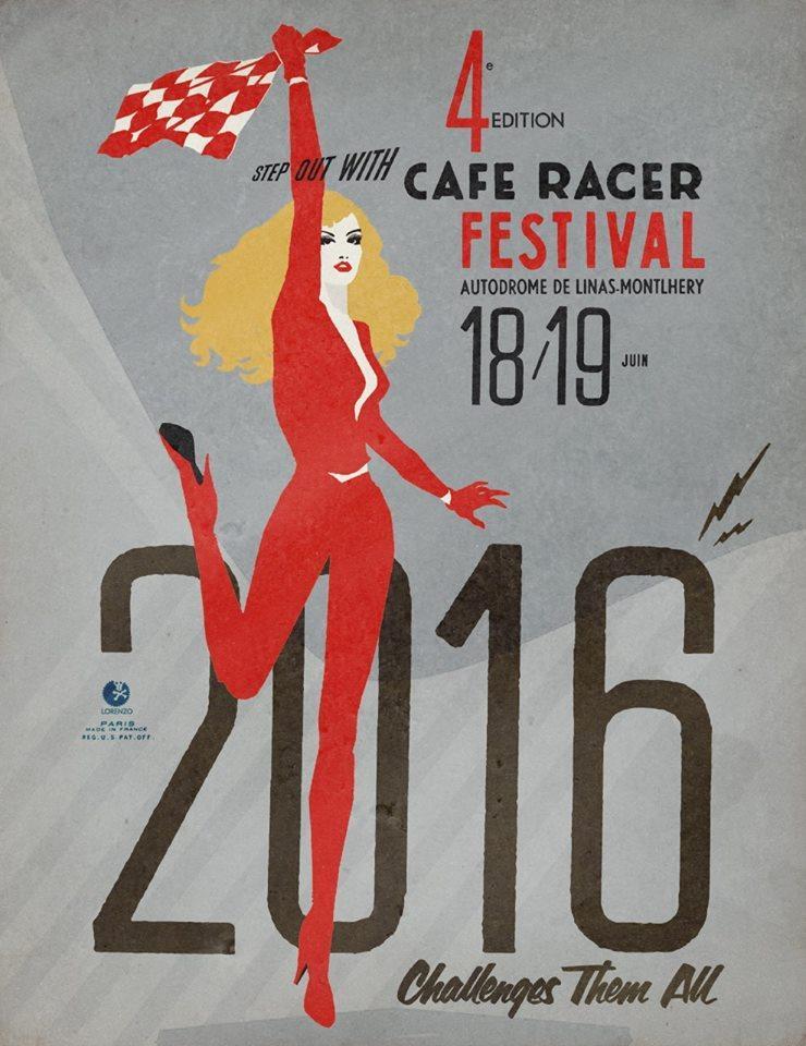 Festival Cafe Racer KB-000
