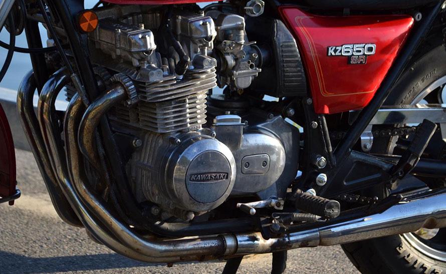 Kawasaki SR 650 D 1978-008
