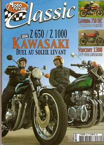 Essai Z1000 Moto Revue Classic n30 jan-fev 2007