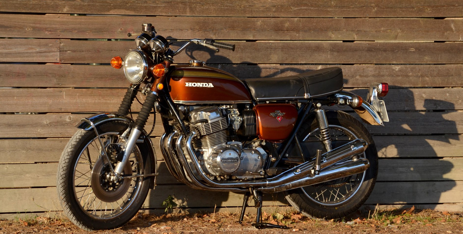 Honda CB 750 K1 Garnet Brown 11