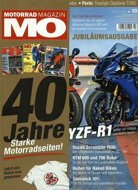 Z900 RS MO Motorrad n° 10 oct 2018