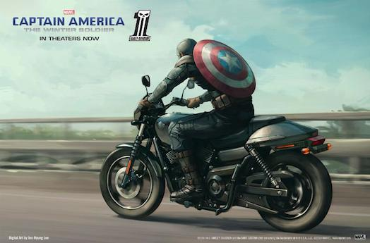 Harley-Davidson, Marvel Join Forces in National Search for Fan to Star in New Digital Franchise (PRNewsFoto/Harley-Davidson Motor Company)
