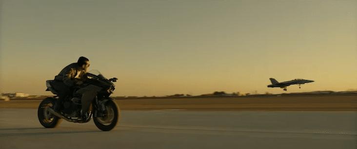 Top Gun Maverick, 2020 : Kawasaki Ninja H2
