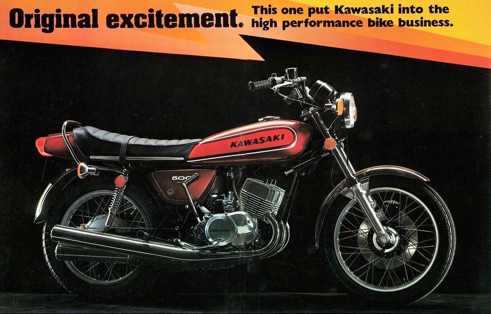 500 H1E 1974 : publicité U.S.