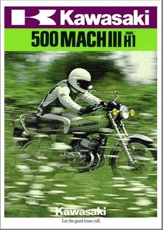 500 H1D 1973 : publicité U.S.