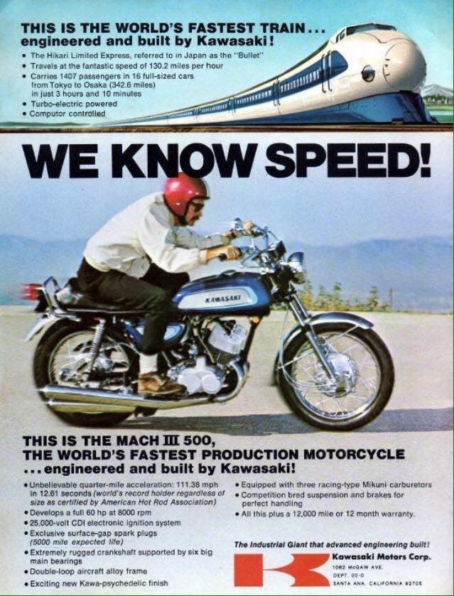 500 H1A 1971 : publicité U.S.