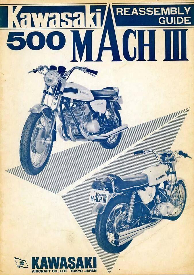 Manuel d'atelier  des toutes premières Mach III