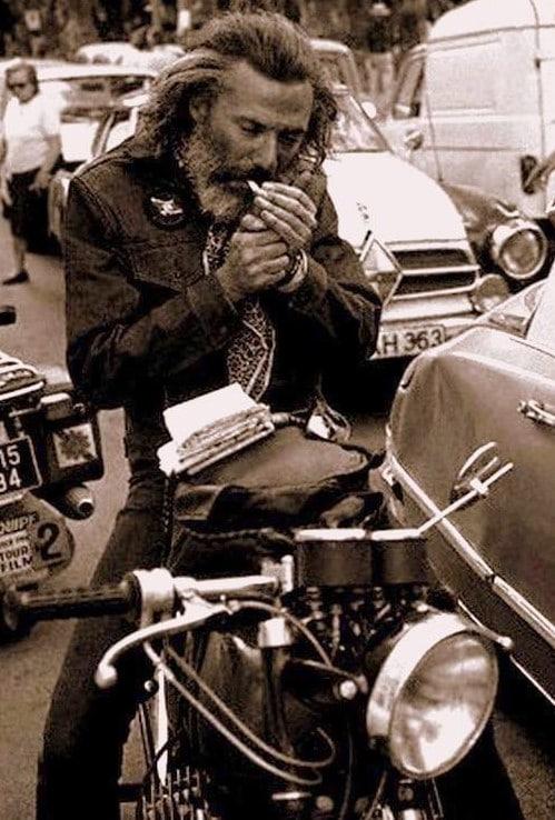 Georges Moustaki à St Tropez