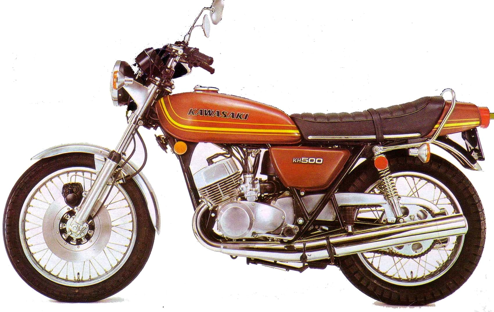 Kawasaki KH500 77