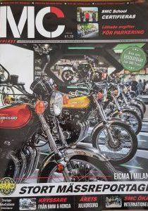 nos Z1 en couverture d'un magazine en Suede 00